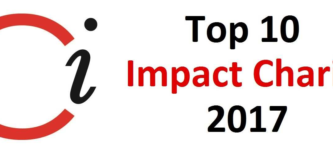 2017 TOP 10 HIGH-IMPACT CHARITIES LIST RELEASED BY CHARITY INTELLIGENCE