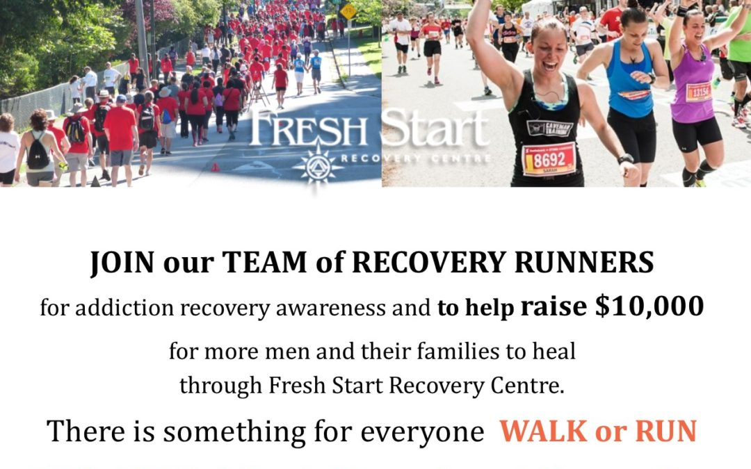 Run for Recovery May 28, 2017