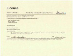 2020 AHS License